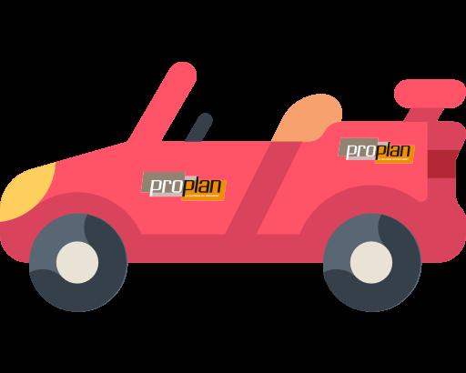 Adhésif pour voiture ou camions