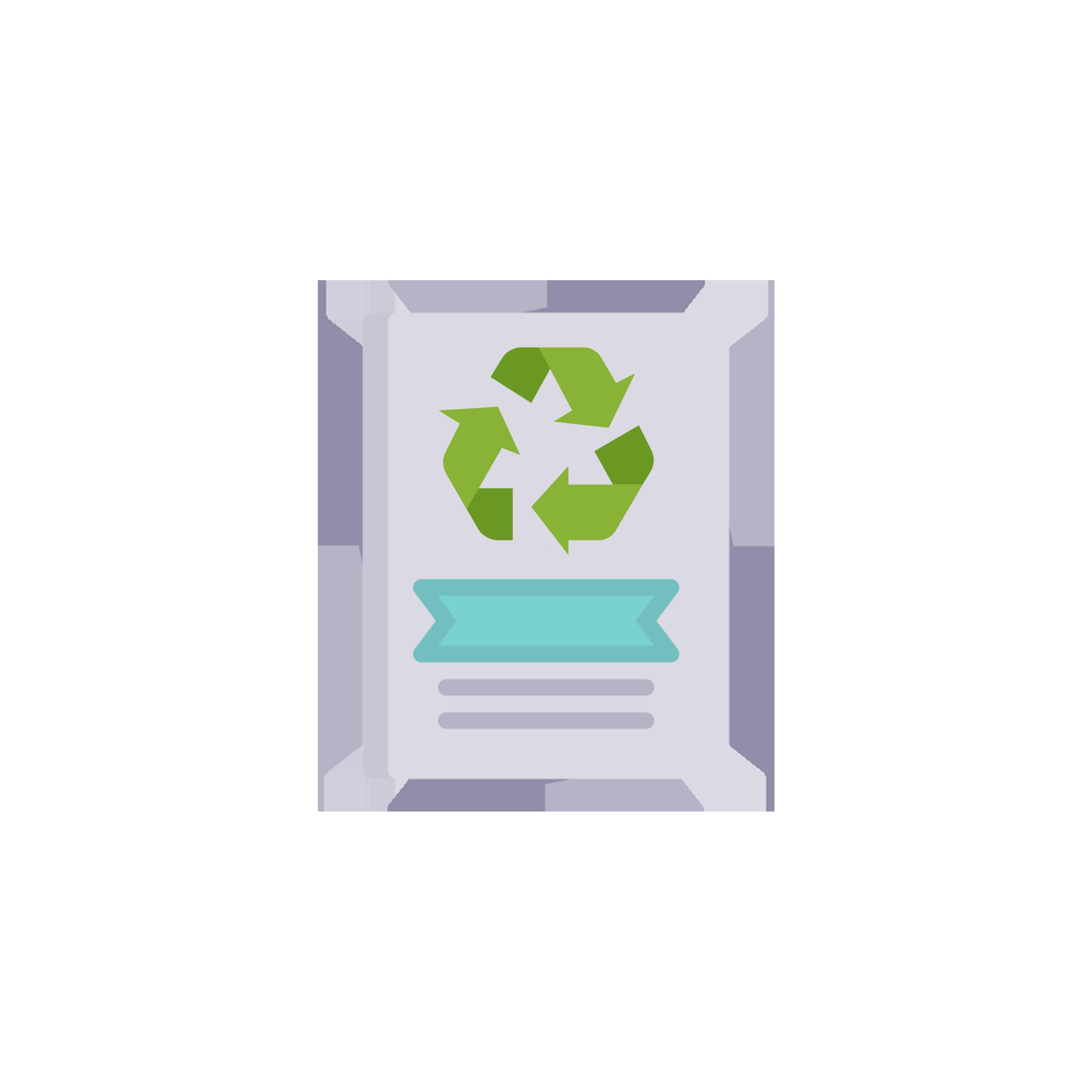 Flyer papier recyclé