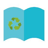 Brochure papier recyclé